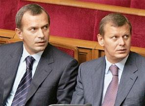 Андрій (зліва) та Сергій Клюєви – найбільш ймовірні нові власники «Промінвестбанку»