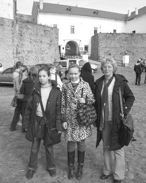 Чернівчанки на екскурсії в замку «Паланок»
