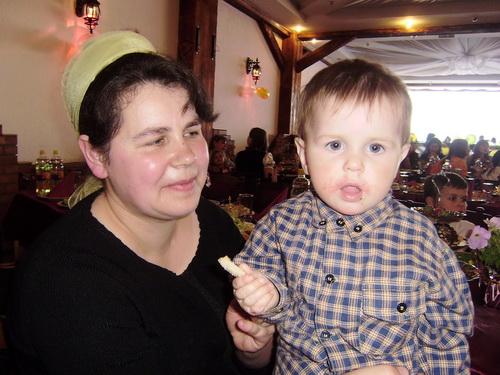 Світлана ГАВРІЛОВА з найменшим сином