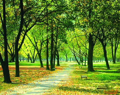 В. ІВАСЮК «Бухарест. Парк»