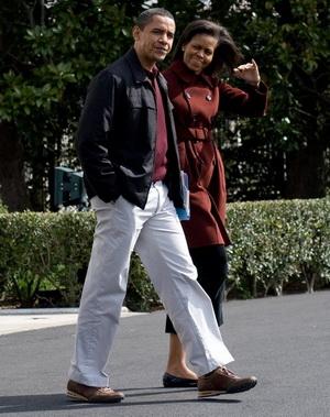 Подружжя Обама –  взірець  антикризового стилю