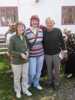 Уляна та Любомир Коваль з Лєрою Ясницькою