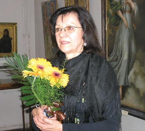 Тетяна ДУГАЄВА на урочистостях  у Художньому музеї