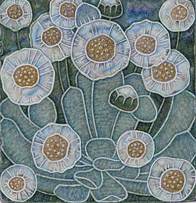 Олег Любківський, Зелене тло білих квітів. 2002
