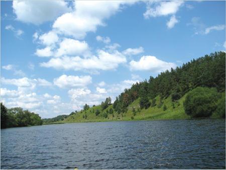 Панорама ріки Случ