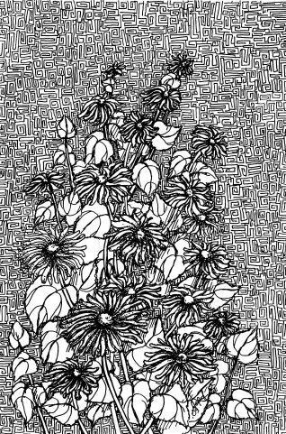 """""""Світ квітів"""" , графіка"""