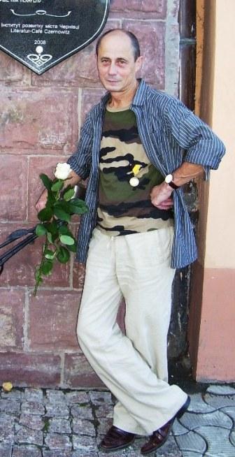 Олег Любківський на відзначенні нагородження медаллю «Signum Memoriar» за збереження європейської культури, яку визначив Кронпринц Отто фон Габсбург. 29.09.2010