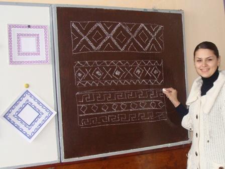 Катерина Мельничук про вишивку знає достеменно