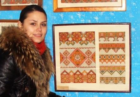 Катерина Мельничук у музеї Г. Гараса