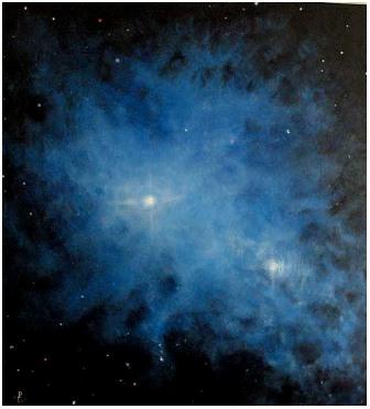 """""""Блакитна галактика"""", Роман Гуманюк, 2007"""