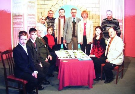 Учасники передачі «Малі річки міста Чернівців» із знімальною групою