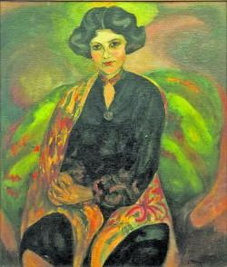 Portrait_Rose Auslander_1928