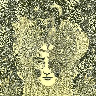 Обкладинка диску англійської співачки Moth Rah, Дврія Глазатова, 2012