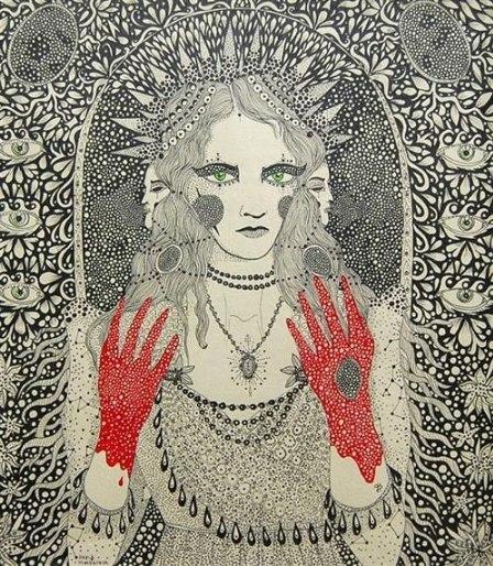 «Кейт Флітвуд у ролі Леді Макбет», автор Дарія Глазатова, 2012