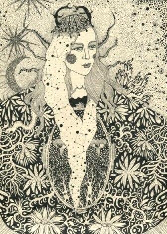 «Джоанна Ньюсом», автор Дарія Глазатова, 2011