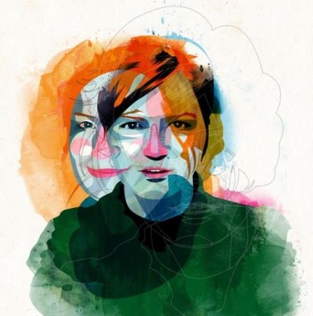 Портрет Дарії Глазатової, автор Альваро Тапіа Хідальго (Іспанія)