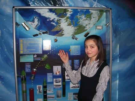 """Учасниця секції """"Наукові дослідження в космосі"""" Ольга Нікітюк"""
