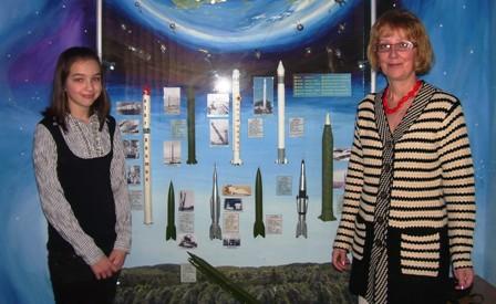 Ольга Никитюк і Тетяна Спориніна. Міська конференція ВСЕСВІТ – 2013»