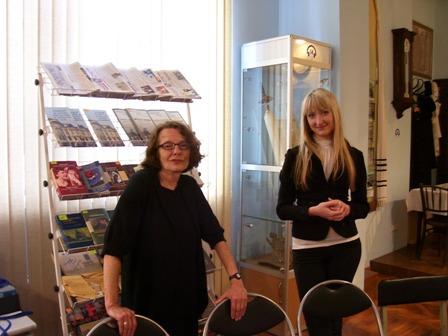 Анна Ямчук менеджер музейних програм та зв'язків з громадськістю у Чернівецького музеї історії та культури євреїв Буковини