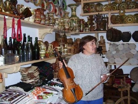 Марія Медик. 19.06.2006. Яремче.
