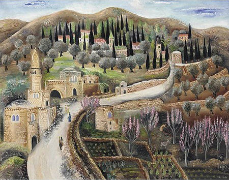 Road to Jerusalem_Ein Karem_1925