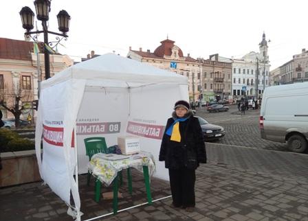 Ця жінка на Євромайдані у Києві була 4 рази.