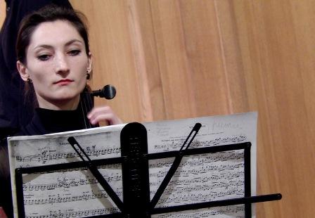 Ольга Андрійчук (віолончель)