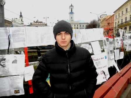 Герой з Київського Майдану. Поранений 20.02.2014.