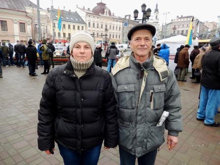 Наталя та Іван познайомилися на Майдані у Києві