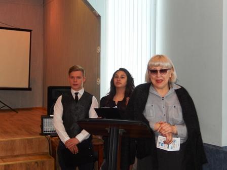 З вітальним словом виступила директор Чернівецької гімназії №2 Тетяна Дуріцька