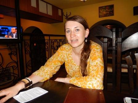 Ірина Колодійчук, журналіст, випускниця Києво-Могилянської школи журналістики