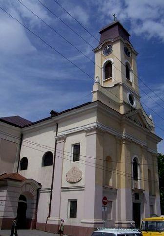 Польський костел, фото  2006 р.