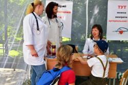 лікарі у парку