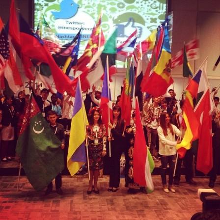 Міжнародна олімпіада екологічних проектів INESPO (м. Гаага, Королівство Нідерланди. Червень 2014.