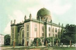 """Темпиль-синагога. Нинішній кінотеатр """"Чернівці"""""""