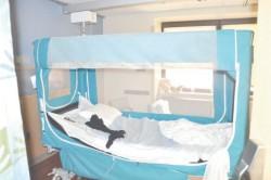 Спецальне ліжко для недужих, впасти з якого неможливо