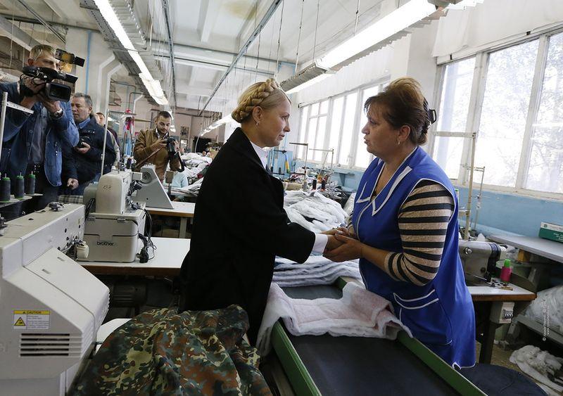 Юлія ТИМОШЕНКО відвідала вчора Буковину. Як волонтер