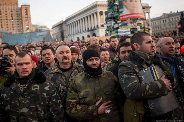 21.2.2014. Майдан. Київ. Фото із сайту Самооборони