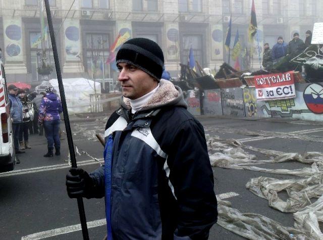 Київ, Майдан Незалежності. Грудень 2013
