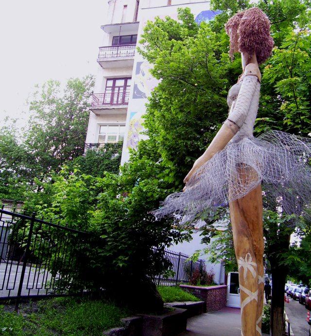 Балерина на вулиці Стретенській. Київ. 26.05.2010