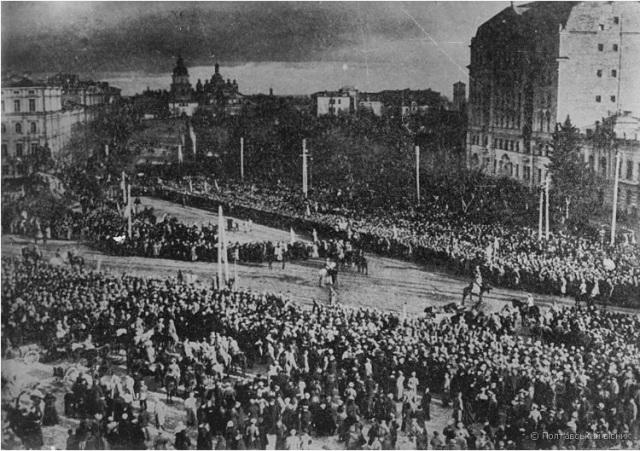 Київ, 22 січня 1919. Софіївська площа