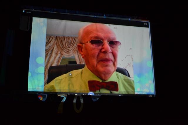 Відеовітання ТЮЧ від Юрія Штейнберга із США