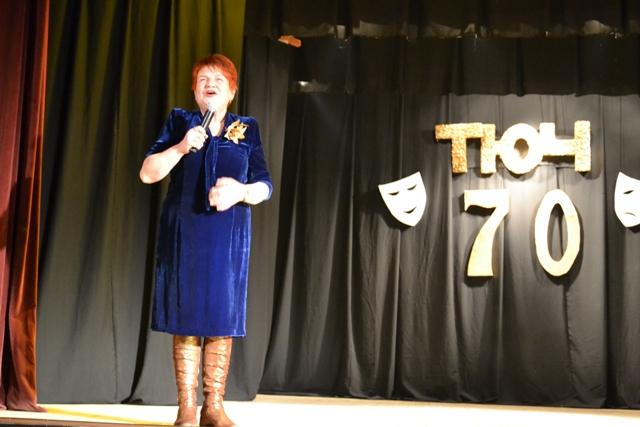 Алла Василівна Клименко пригадала, що цього року відзначатиме і 75-річчя МПДЮ...