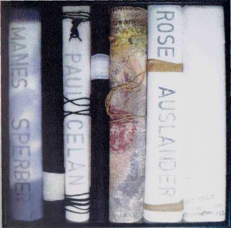 BUKOWINA II, Objekt, Papier, Farbe, Graphit, Hoolz Helga von Loewenich ( picture from weblinks vonloewenich.de)