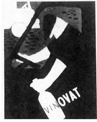 """Ед Арно. Антиалкогольний  Плакат """"Vinovat"""". Бухарест. 1963 р. Оригінал знаходиться в музейній колеції (Москва)"""