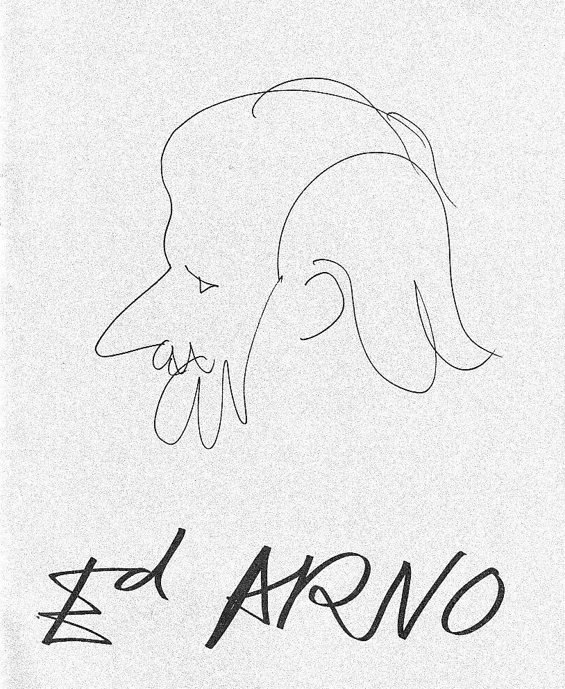 Ед Арно. Автопортрет. 1970-і роки