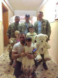 Одинадцять буковинських онкохворих дітей отримали подарунки від  «Побратимів України»