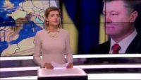 Дружина президента Порошенка Марина заплатила 4,5 тисячі гривень за виробництво ролика-привітання на базі студії державного каналу іномовлення UA/TV
