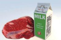 Буковина – лідер за темпами здорожчання м'яса і молока в Україні