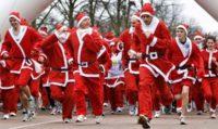 У Європі стартували щорічні забіги Санта-Клаусів